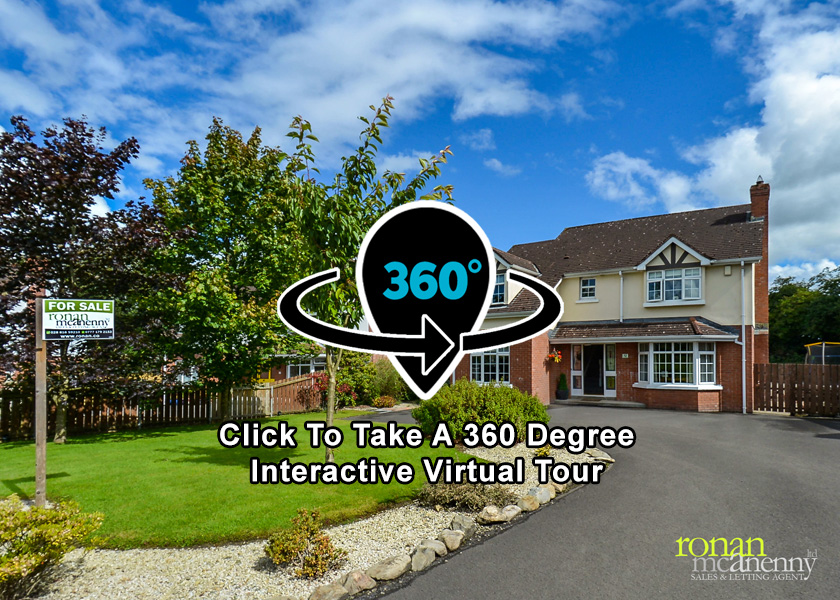 Click Here for 360 Degree Interactive Virtual Reality Tour of 12 The Willows, Sion Mills